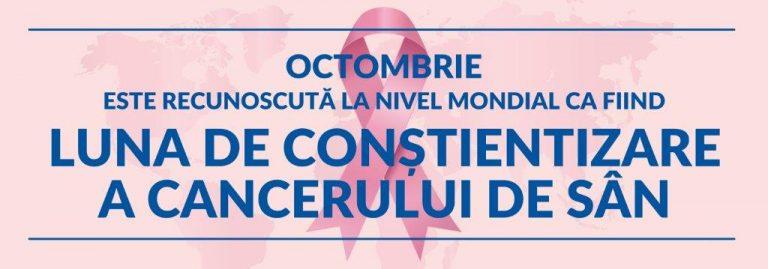 Luna de conștientizare a Cancerului de Sân - Synevo