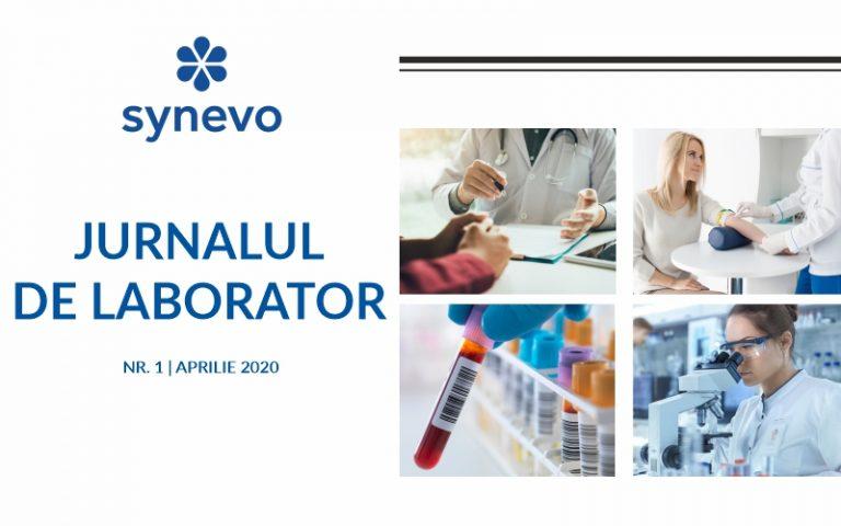 Jurnal de laborator nr. 1 - aprilie 2020 - Synevo
