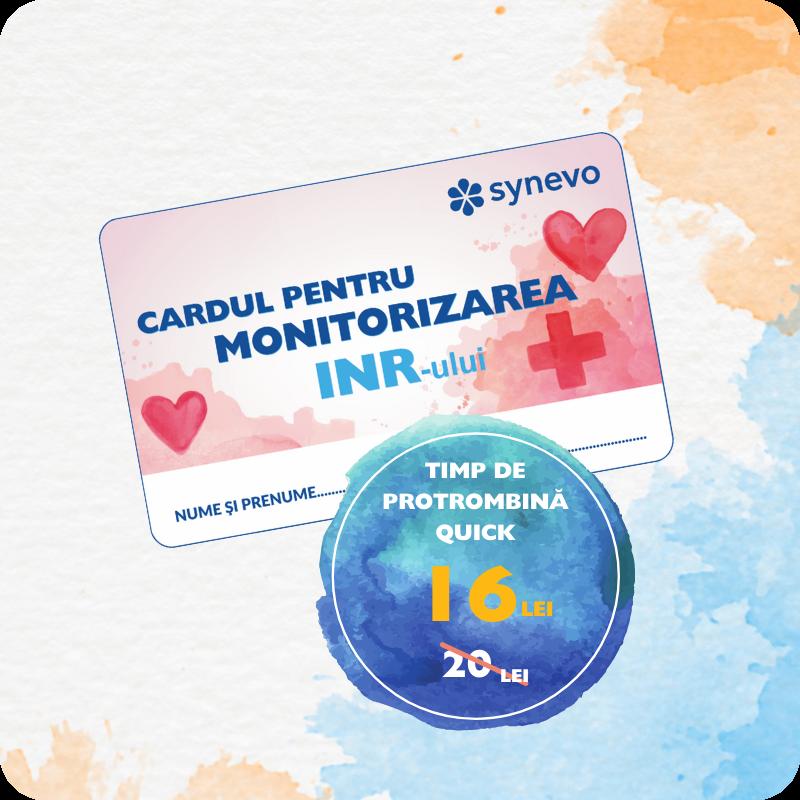test INR, campanie pentru monitorizarea INR-ului