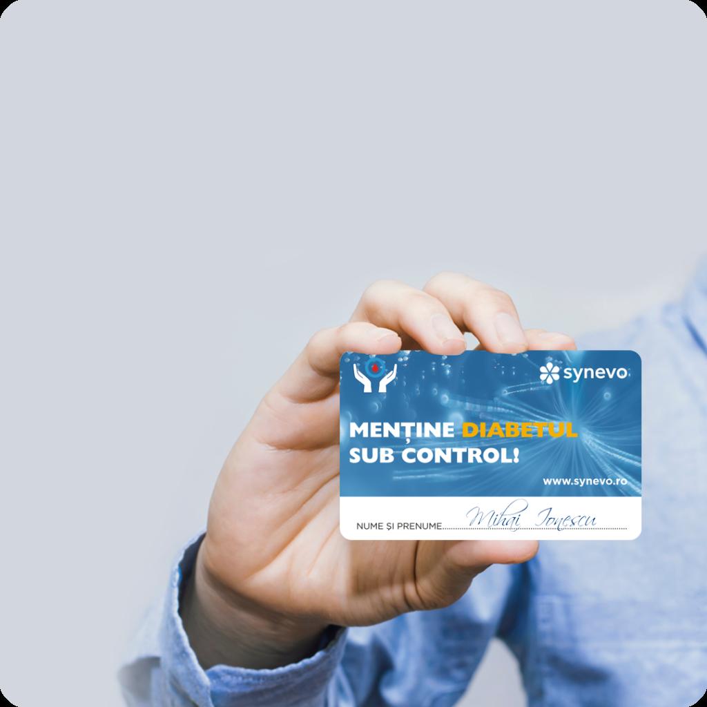 monitorizare diabet, card discount profil analize synevo