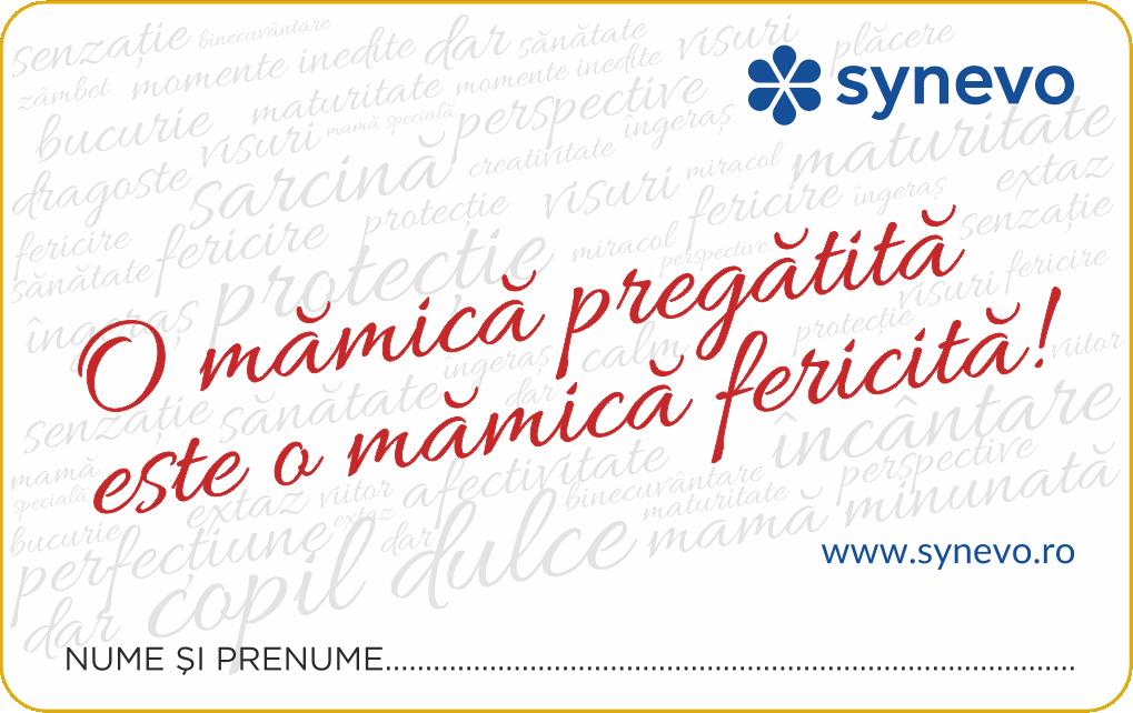 (Campanie încheiată) Monitorizarea sarcinii: O mămică pregătită este o mămică fericită! - Synevo