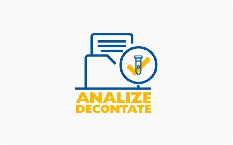 analize decontate CAS synevo, CAS, CASMB, CAS Iflov