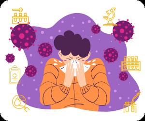 alergii, gripa, covid-19, synevo