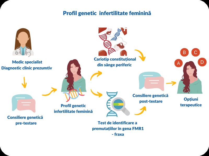 Profil genetic de infertilitate feminină/masculină - Synevo