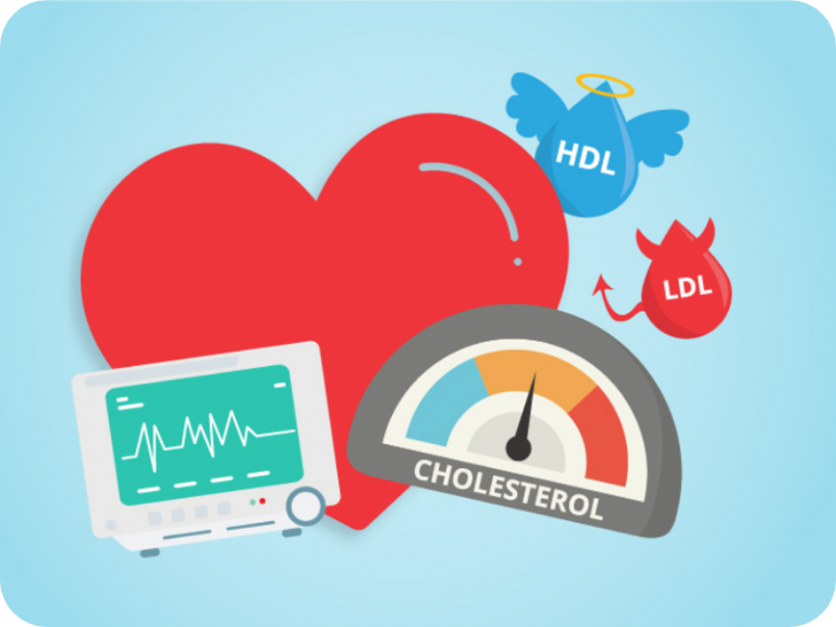 colesterol, colesterol HDL, colesterol LDL