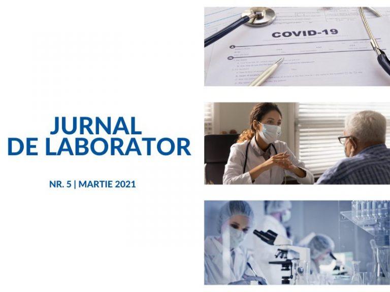 JURNAL DE LABORATOR - martie 2021